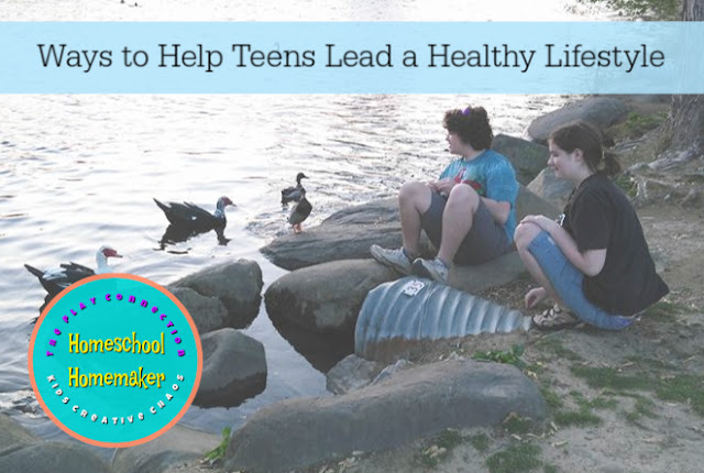 6 Ways to Help Teens Lead Healthy Lives