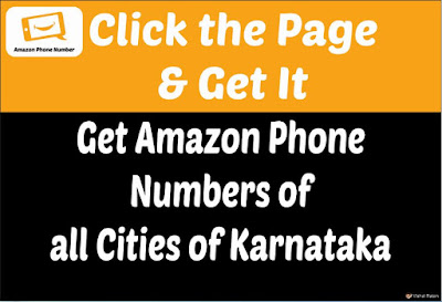 Get Amazon Phone Numbers of all Cities of Karnataka