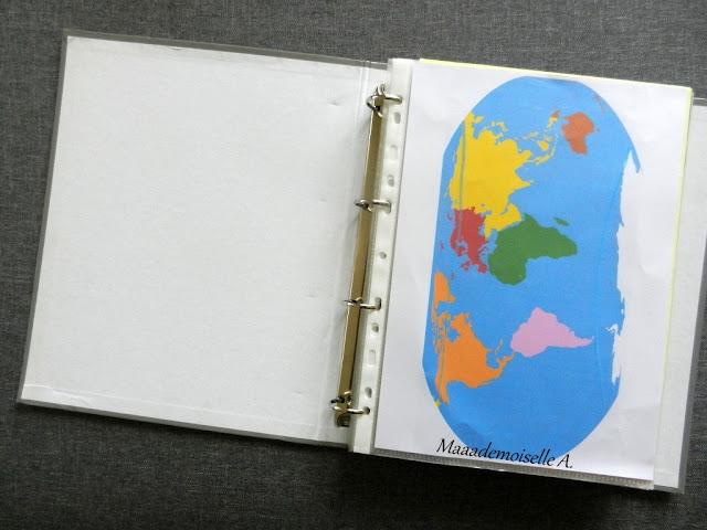 || Petite initiation à la géographie - planisphère Montessori
