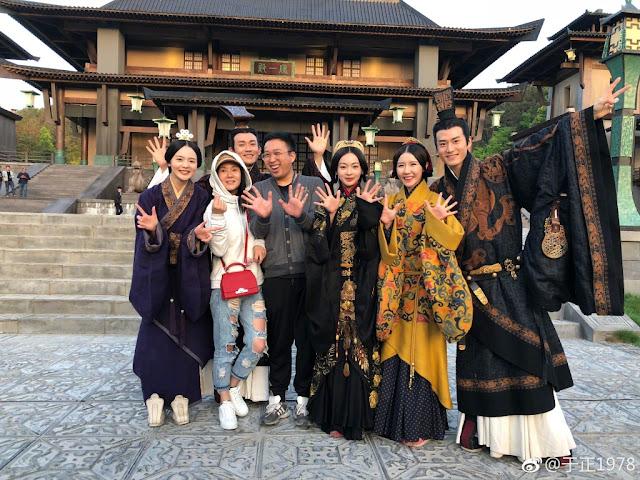 Yu Zheng Hao Lan Zhuan Filming