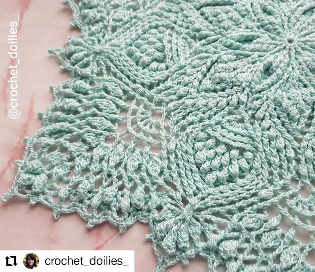 ¡Los doilies a crochet están de moda! - Patrones y Tutoriales