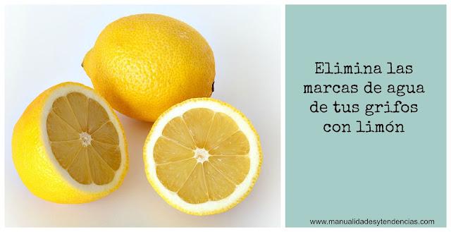 Usar limón para limpiar el baño