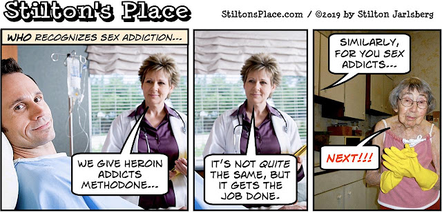 stilton's place, stilton, political, humor, conservative, cartoons, jokes, hope n' change, WHO, World Health Organization, burnout, burn-out, video games, addiction, sex, nadler