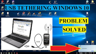 USB Tethering Android Tidak Bisa Konek Ke PC Windows 10