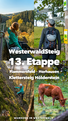 WesterwaldSteig 13. Etappe Flammersfeld – Horhausen  Klettersteig Hölderstein 21