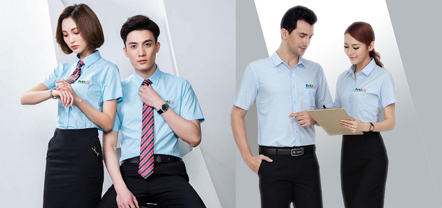 Đồng phục công sở thường có kiểu dáng, màu sắc và thiết kế giống nhau