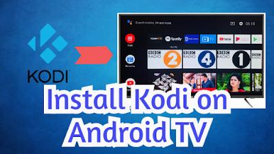 Kodi app on Android TV