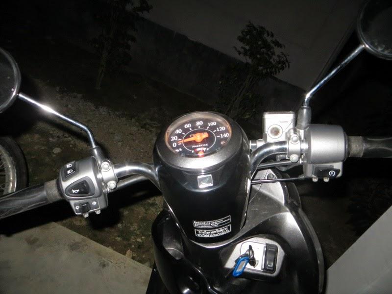 руль управления на скутере