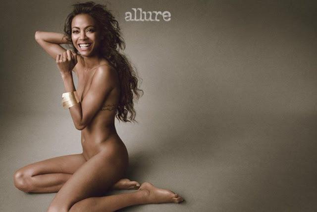 Zoe Saldana - Allure magazine