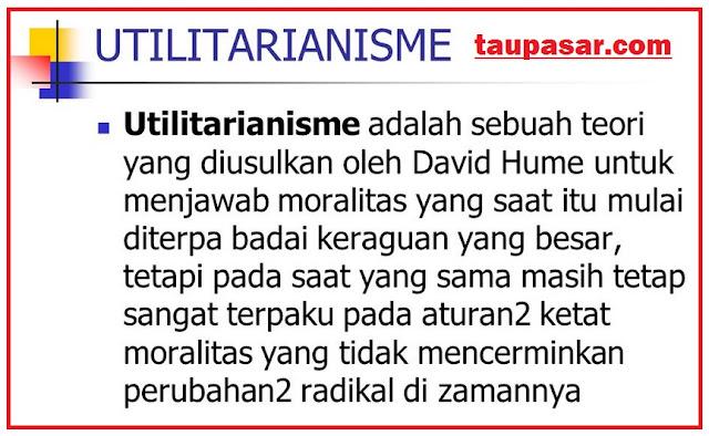 utilitarianisme adalah