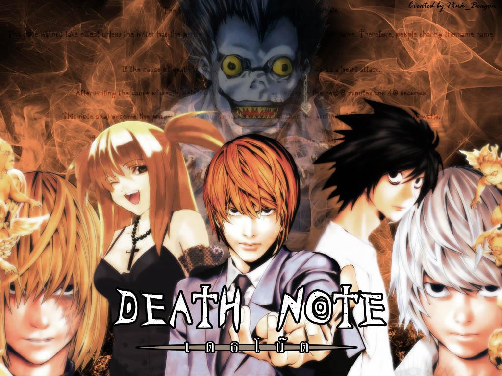 Todo anime.=D: Imagenes Death Note 2