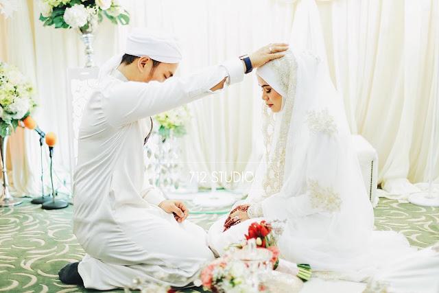Gambar Pernikahan Yatt Hamzah dan Mohd Zulfadhli
