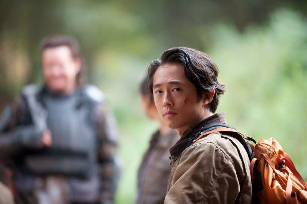 Glenn y Abraham en The Walking Dead 4x15 - US