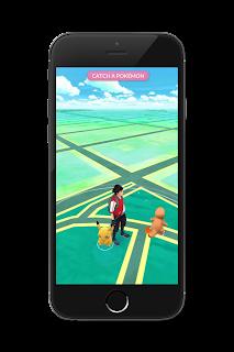 Pikachu Pokémon Go