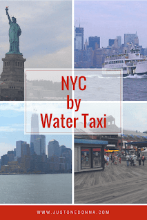 Sight-Seeing in NYC by Water Taxi