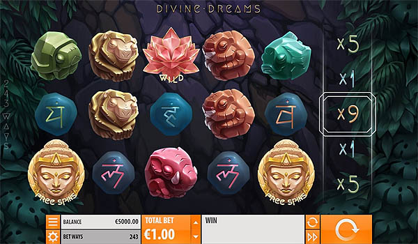 Main Slot Gratis Indonesia - Divine Dreams (Quickspin)