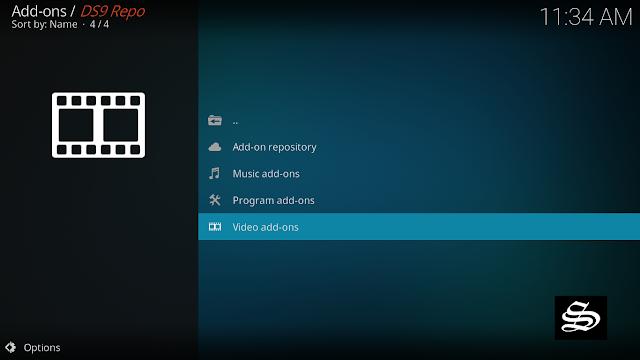 install-ds9- kodi-add-on