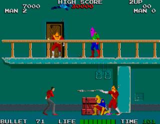 Rolling Thunder+arcade+game+portable+videojuego+descargar gratis