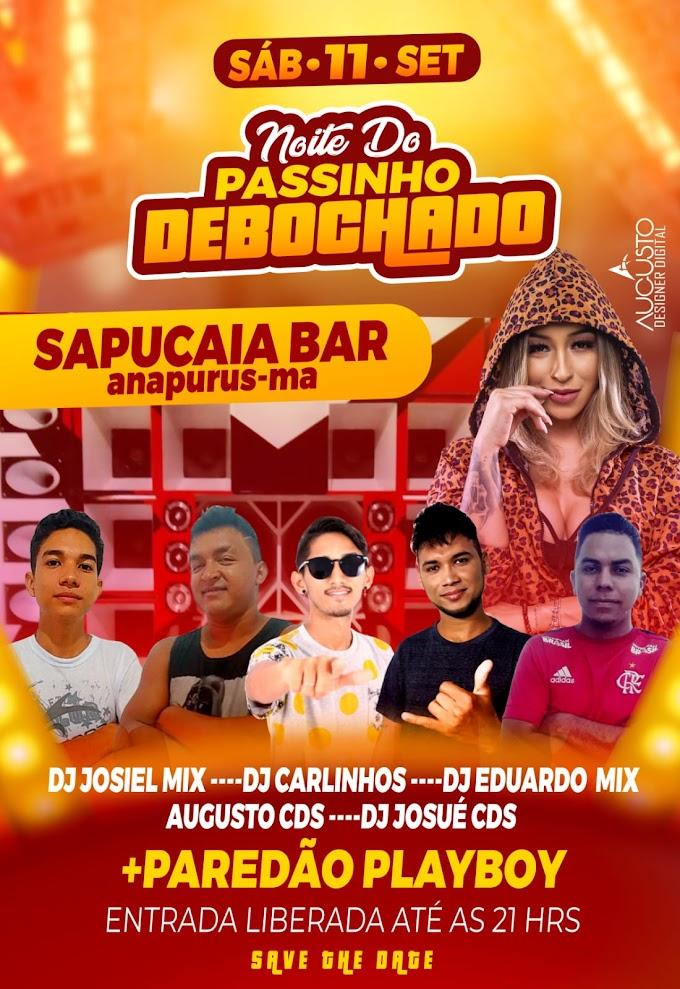 Noite de Passinho Debochado no Sapuca Bar em anapurus - MA