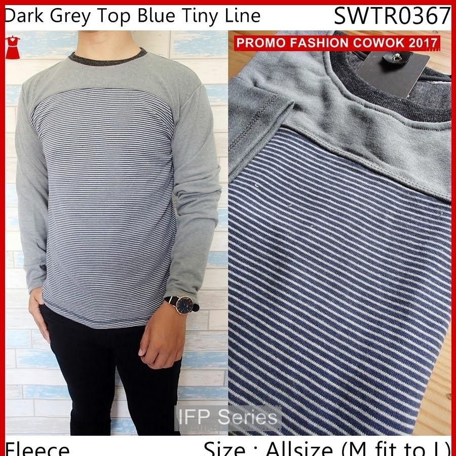 BIMFGP036 Blue Sweater Casual Fashion Pria PROMO