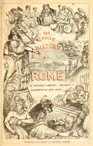 The comic history of Rome PDF book