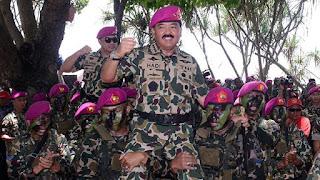 Panglima TNI Hadi Tjahjanto Hadiri Upacara HUT TNI AU ke-72