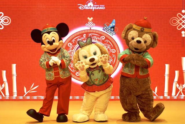 香港迪士尼樂園度假區, Hong Kong Disneyland Resort. 2019年 新春慶祝活動, Chinese New Year Celebration, Disney, HKDL