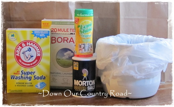 Down Our Country Road: ~DIY Detergent Recipes~