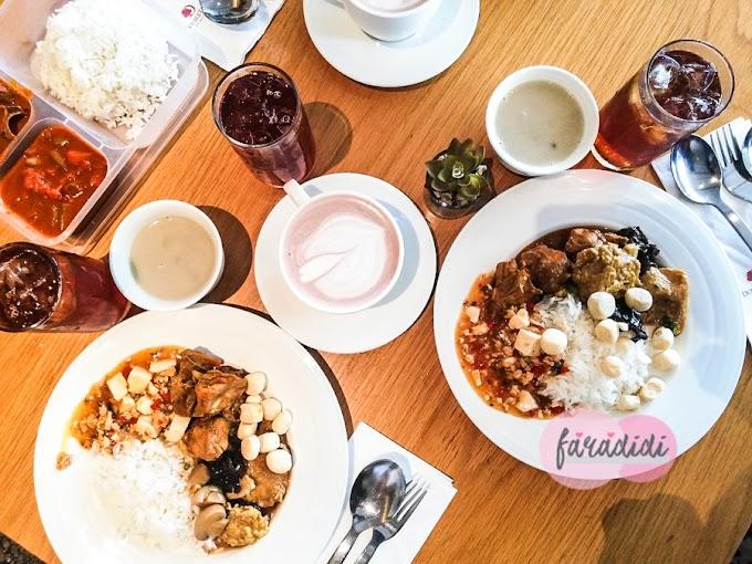 Lunch Set RM12 di DoubleTree by Hilton Johor Bahru!