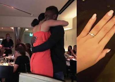 Emmanuel Emenike proposes to MBGN 2014 Iheoma Nnadi after dating for 6 months (photos)
