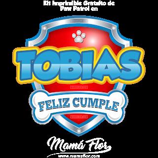 Logo de Paw Patrol: TOBÍAS
