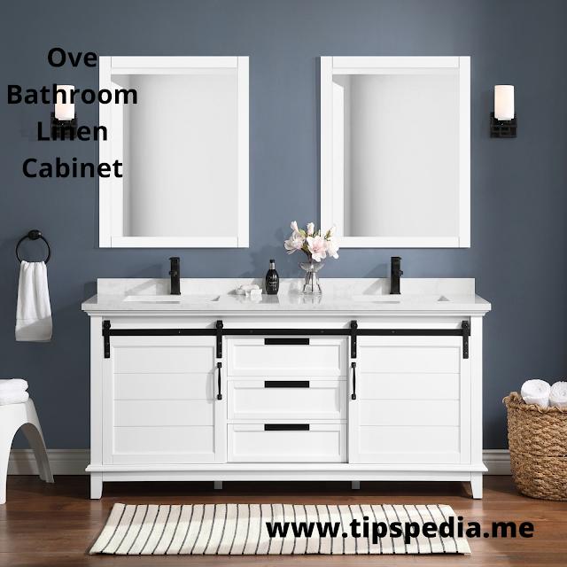 ove bathroom linen cabinet