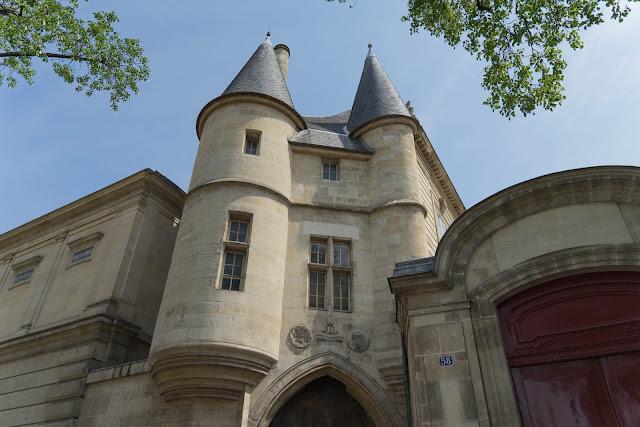 Hôtel de Soubise, rue des Archives