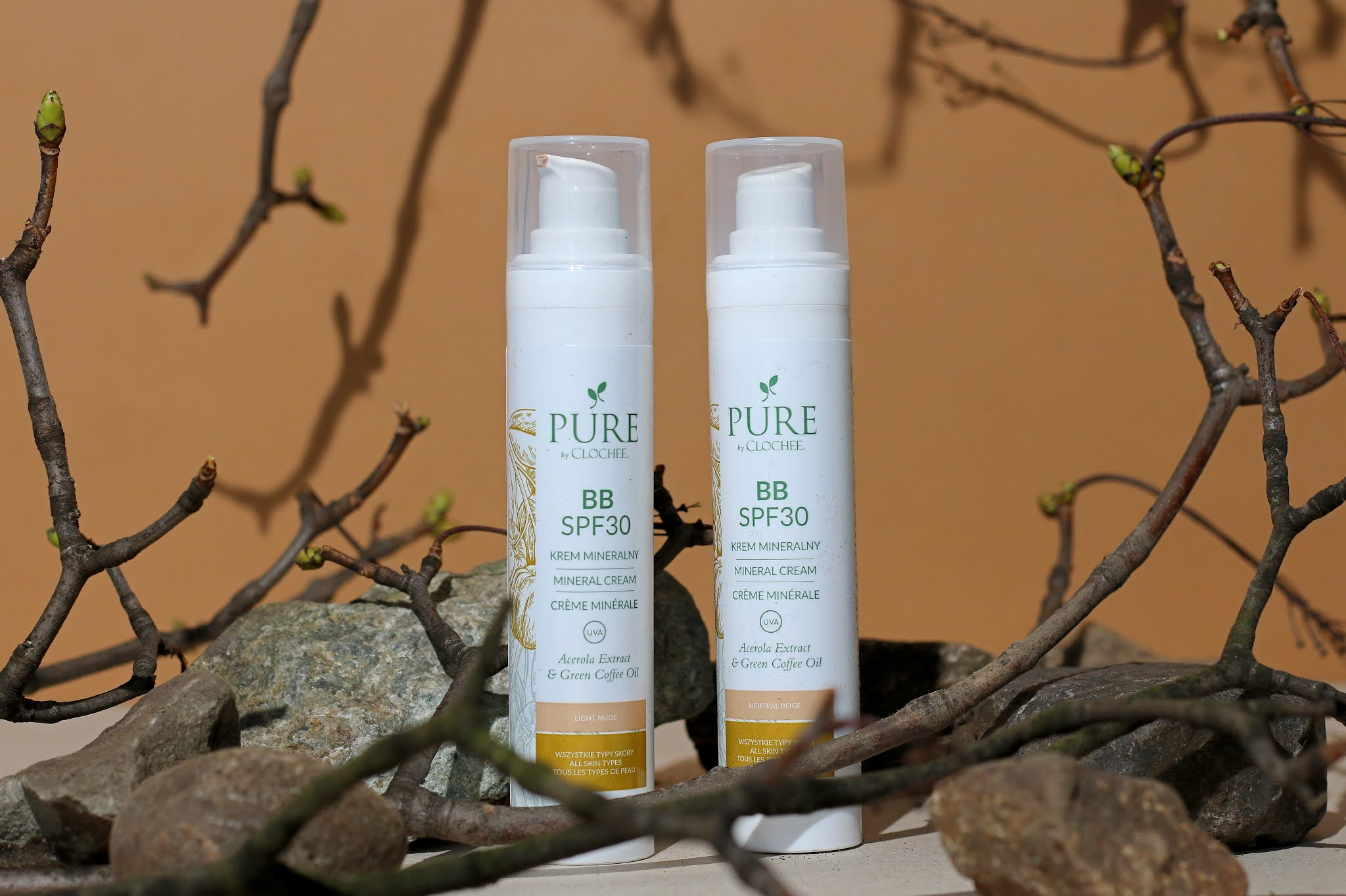 Pure By Clochee - Mineralny krem BB SPF30