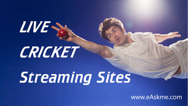 Top 15 Live Streaming Sites for Cricket: eAskme