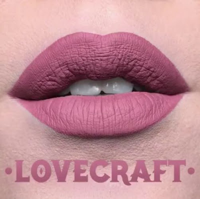 kat von d Everlasting Liquid Lipstick lip swatch lovecraft