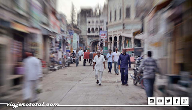 Calle de Mandawa, India