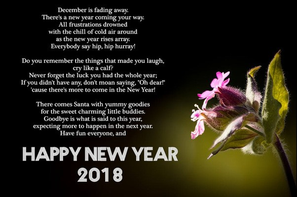 Happy new year 2018 messages for friends family in english merry happy new year 2018 messages for friends family in english m4hsunfo