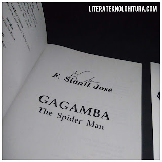 gagamba by f sionil jose autographed