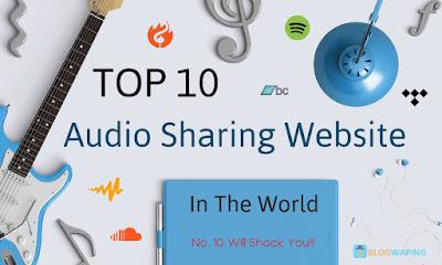 Audio Sharing Websites