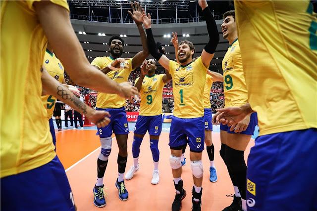 Com Leal, Brasil comemora o título da Copa do Mundo em 2019