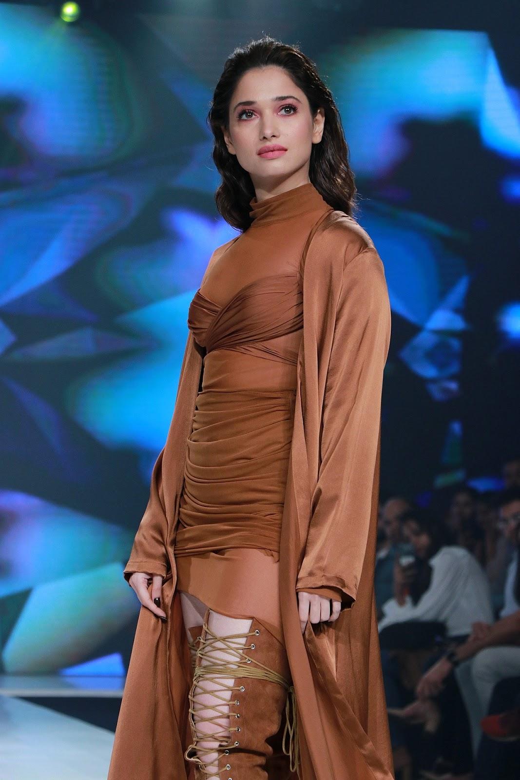 Tamanna Bhatia Ramp Walk At Bombay Times Fashion Week 2020
