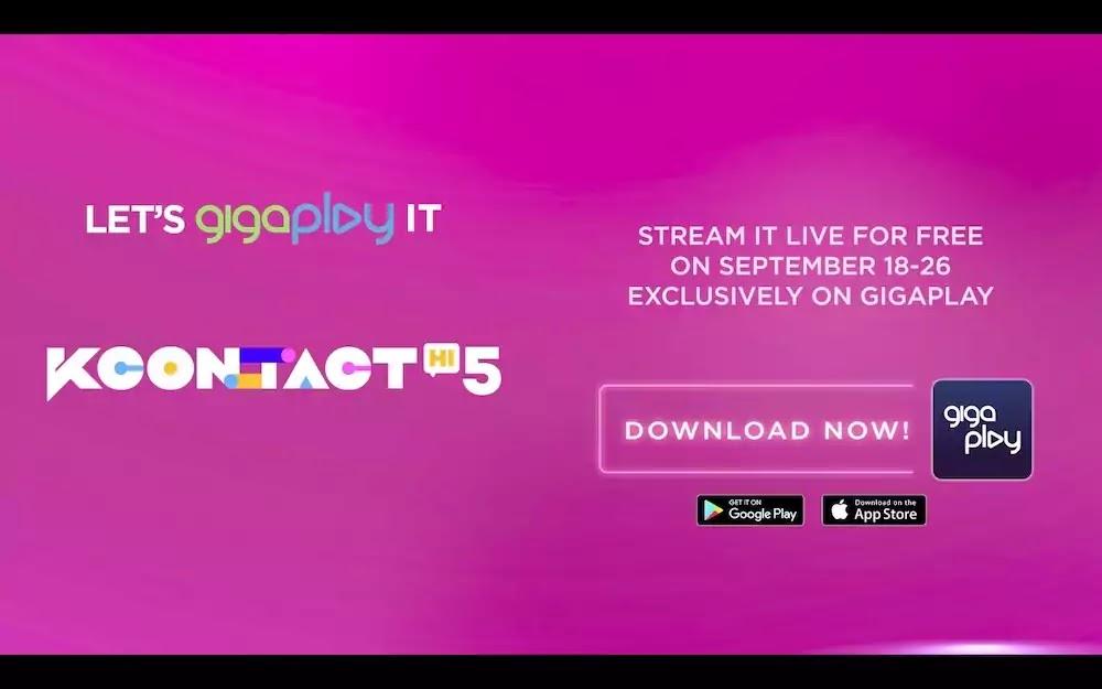 KCON:TACT HI 5 -  Smart GigaPlay