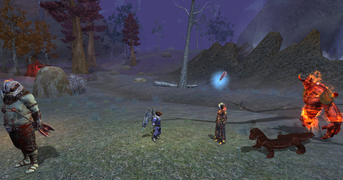 Inventory Full: Why Can't We Live Together? : WoW, EQ2, Rift