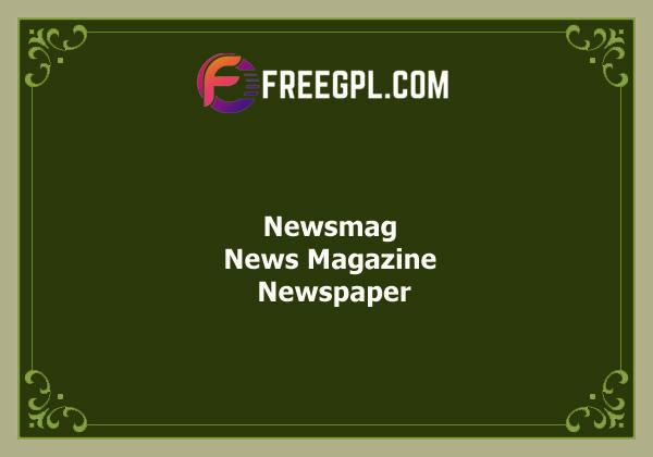 Newsmag 4.9.6 – Newspaper & Magazine WordPress Theme Free Download