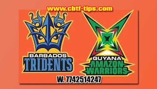 Who will win Today CPL T20 2019 19th Match Barbados vs Guyana