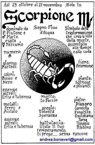 segni zodiacali astrologia datazione Scorpione uomo Top Ten siti di incontri internazionali gratuiti
