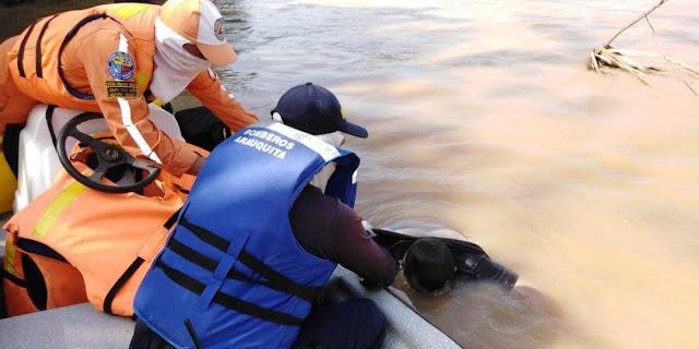 FRONTERA: Se recuperan cuerpos de tres integrantes de una misma familia que perecen en el río Arauca en Colombia.