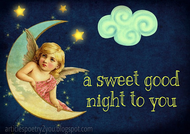 A sweet good night for you