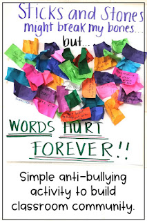 stop bullying in the classroom by showing students appropriate ways to act in front of one another. Empower students to speak up for one another in this community building activity to promote a kind classroom environment.